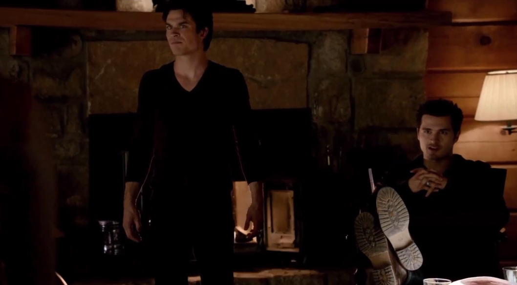 Image - Damon and Enzo in 5x20.png   The Vampire Diaries ...