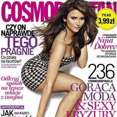 Cosmopolitan — Oct 2013, Poland, Nina Dobrev
