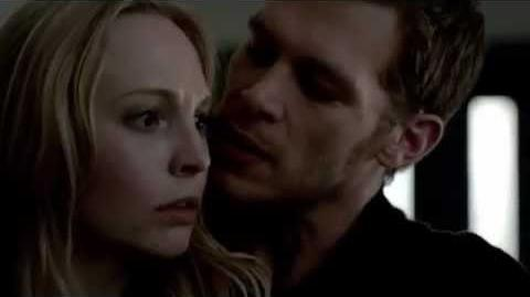 3x21 Klaus saves Caroline (The Vampire Diaries)