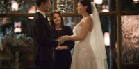 Alaric and Jo's wedding