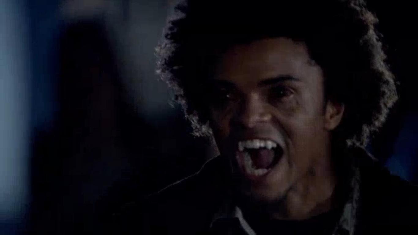 Vampire Diaries Werewolf Face Diego s vampire face