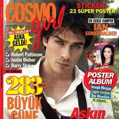 Cosmo Girl — Feb 2013, Turkey, Ian Somerhalder