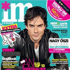 IM — Sep 2011, Hungary, Ian Somerhalder