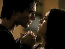 Damon threatens Elena