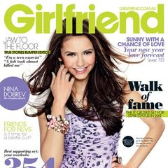 Girlfriend — Jan 2012, Australia, Nina Dobrev