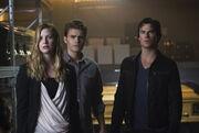 TVD - Damon, Valerie, and Stefan