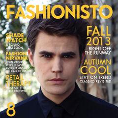 Fashionisto — Fall 2013, United Kingdom, Paul Wesley