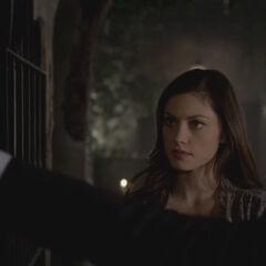 Elijah threatening Thierry
