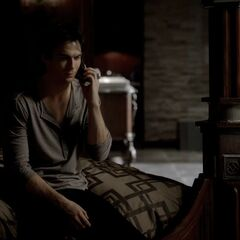 Damon in his bedroom