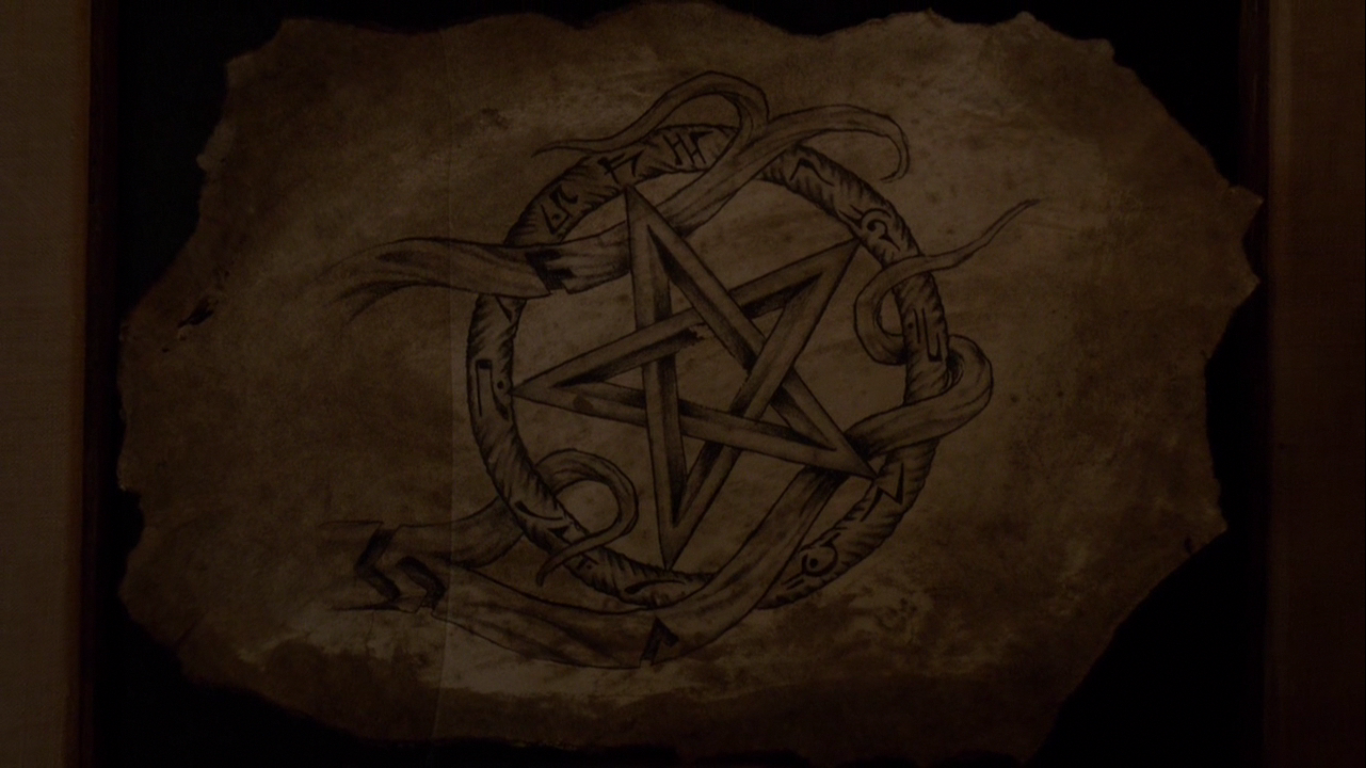 Image Expression Pentagram Png The Vampire Diaries