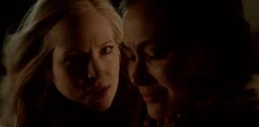 Caroline threatens Sloan to protect Stefan 5X16