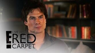 """Will """"Vampire Diaries"""" Get a Happy Ending? E! Live from the Red Carpet"""