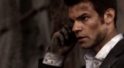 Elijah talking with Hayley on the phone 1x19