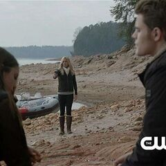 Elena, Rebekah and Stefan