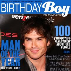 Birthday Boy — Dec 2009, United States, Ian Somerhalder