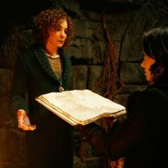 Bonnie and Sheila with Emily Bennett's Grimoire