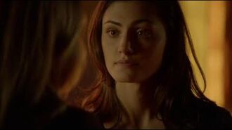 """The Originals 3x13 Hayley Cami """"You're gonna try and punch me"""""""