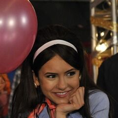 Elena at the school dance.