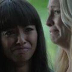 Caroline Mourning Bonnie