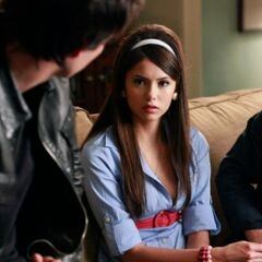 Elena, Damon and Stefan discussing Noah.