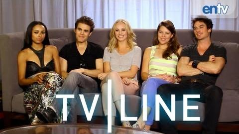 """The Vampire Diaries"" Interview at Comic-Con 2013 - TVLine"