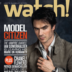 CBS Watch — Apr 2014, United States, Ian Somerhalder