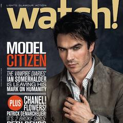 CBS Watch — Apr 2014, United States, Ian Somerhalder