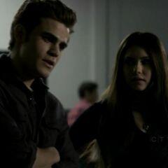 Stefan-Elena at Miss Mystic