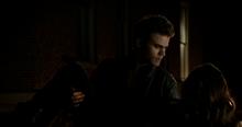 Stefan catches Katherine