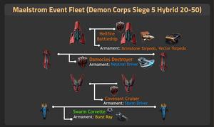 Demon Corps Siege 5 Hybrid 20-50