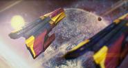 VEGA Conflict Hellfire battleship mk Vs