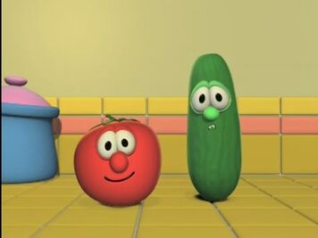 Bob & Larry - VeggieTales - It's For the Kids! Wiki Veggie Tales Larry The Cucumber And Bob The Tomato