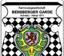 KG Bensberger Garde Schwarz-Weiss 1971