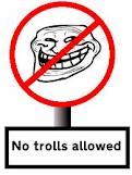 No trolls allowed