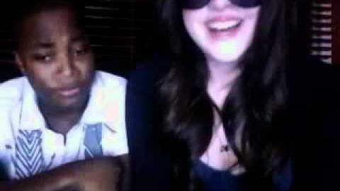 Elizabeth Gillies & Leon Thomas III Ustream Part 2
