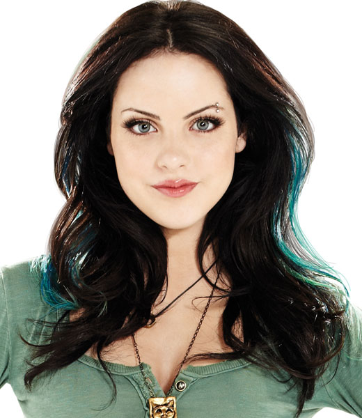 Jades Blue Black Hair