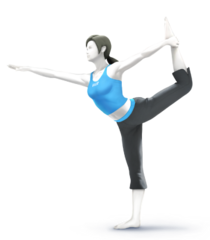 Wii fit trainer real