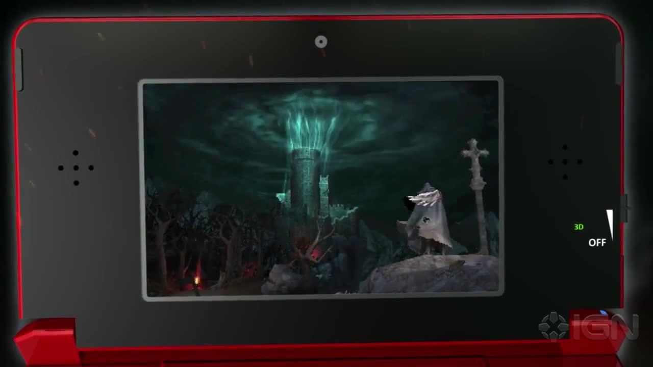 Castlevania Mirror of Fate - Halloween Trailer