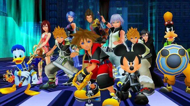 9 Fans React to Playing Kingdom Hearts HD 2