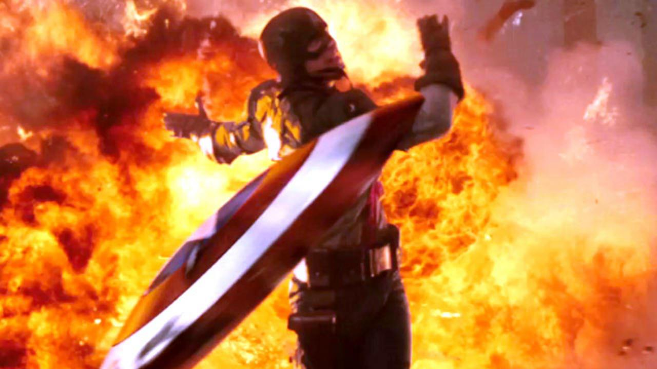 Exclusive Captain America Talks to IGN