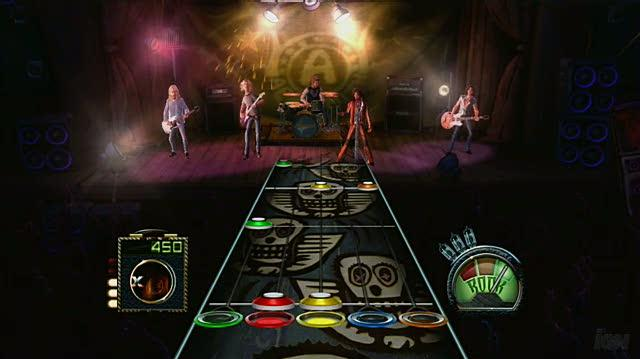 Guitar Hero Aerosmith Xbox 360 Review - Video Review