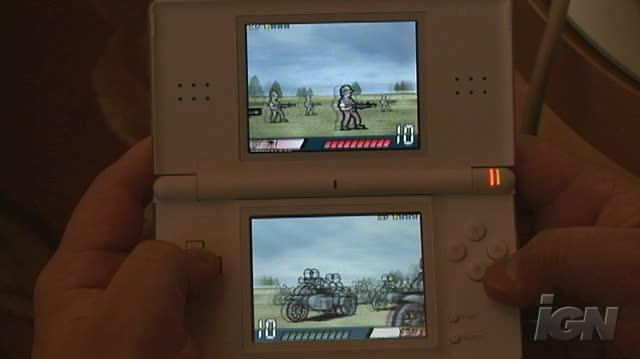 Advance Wars Days of Ruin Nintendo DS Gameplay - Choose Your Weapon (Off Screen)
