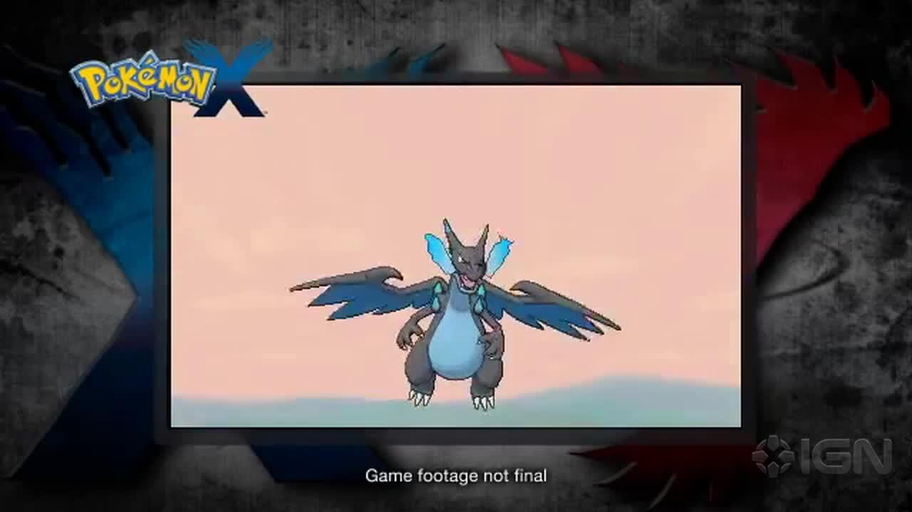 Pokmon X & Y Mega Charizard Revealed