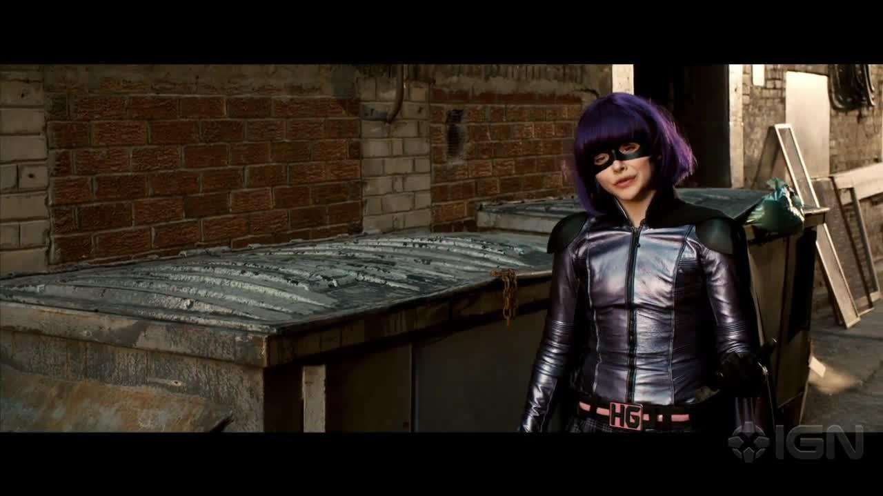 "Kick-Ass 2 - ""Hit Girl races Marcus home"" Clip"