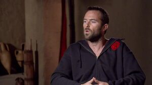 300 Rise of an Empire - Sullivan Stapleton Themistokles Interview