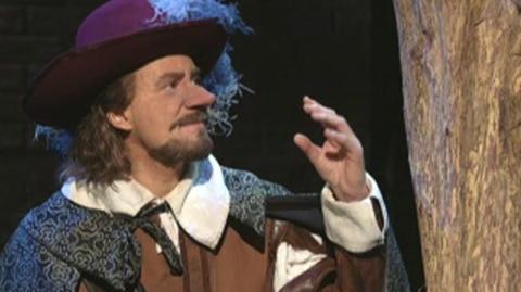 Cyrano De Bergerac (2008) - Clip Why do your words come so haltingly out?