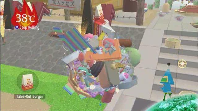 Beautiful Katamari Xbox 360 Gameplay - Harvest of Love