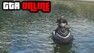 GTA Online Jet Ski Water Race Delta V Gameplay Clip