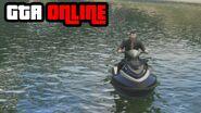 GTA Online Jet Ski Water Race Delta V Gameplay Clip