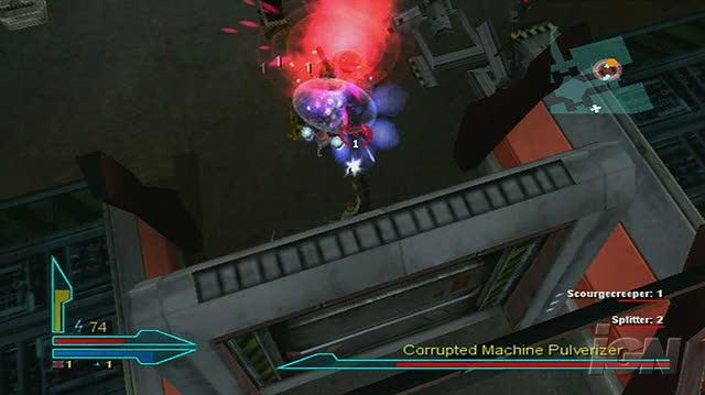 Alien Syndrome Nintendo Wii Clip - Level 1 Boss Fight